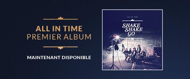 ALL IN TIME Premier album disponible